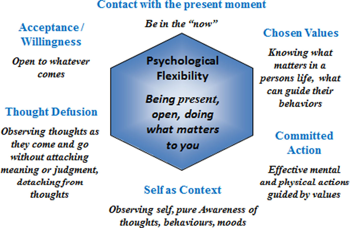 Acceptance And Commitment Therapy Act Shows That Self