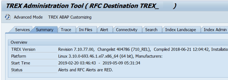 How to Check SAP TREX Version