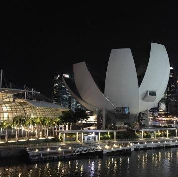 This is by Marina Bay Sands!