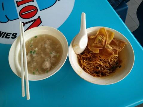 Dry Noodle Soup