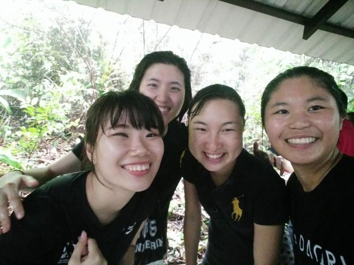 we were so wet!!