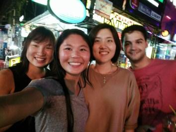 Kanaha, me, Helen and Thomas!