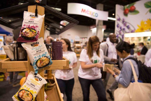 Koyo Gourmet Healthy Ramen. Top Trends at Natural Products Expo West 2018 via It's Jou Life blog - https://wp.me/p7RBMP-1b2