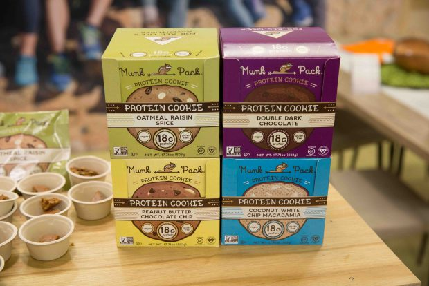 Munk Pack Protein Cookie. Top Trends at Natural Products Expo West 2018 via It's Jou Life blog - https://wp.me/p7RBMP-1b2