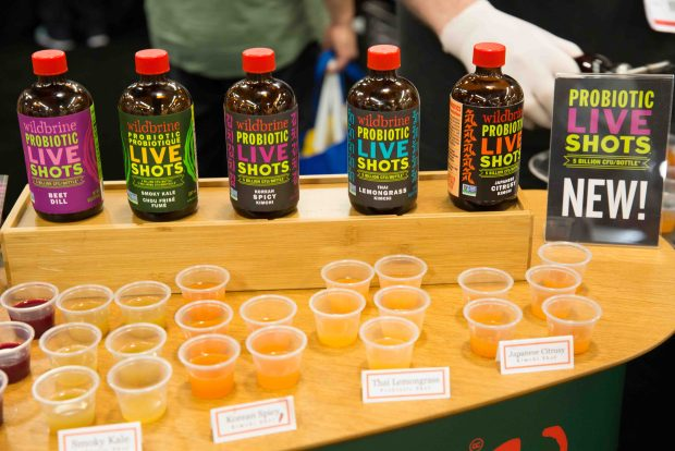 Wildbrine Probiotic shots. Top Trends at Natural Products Expo West 2018 via It's Jou Life blog - https://wp.me/p7RBMP-1b2