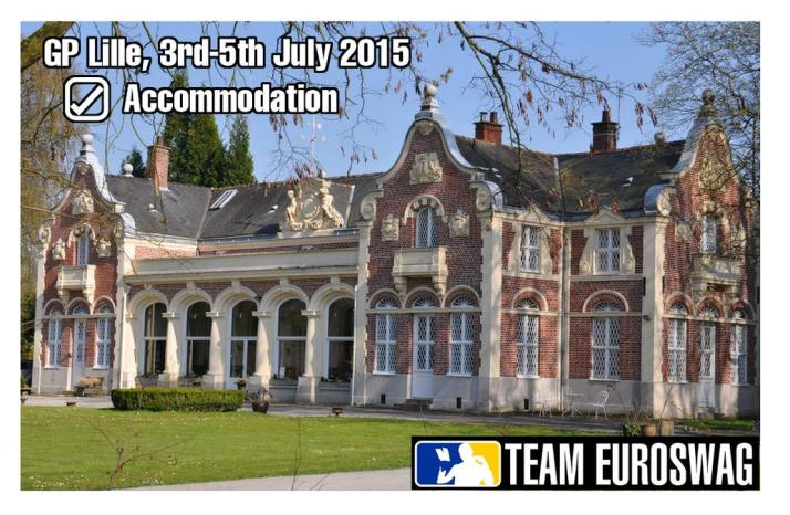 Team EuroSwag's home during GP Lille
