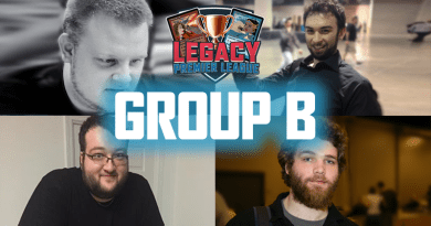 Legacy Premier League – Group B Resultse
