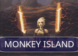Monkey Island vs UWr Stoneblade #1 (R2 Daily Event)