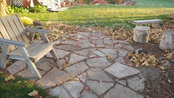 diy flagstone pavers archives it s just a project