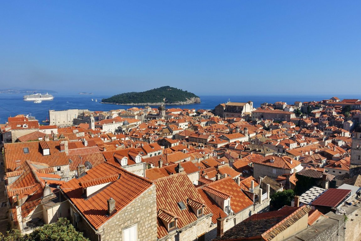 Dubrovnik red roofs