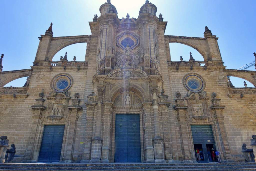 Entrance to Jerez Cathedral