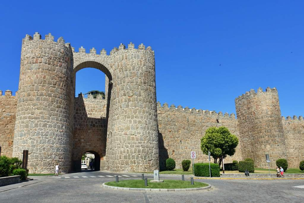 Gates into Avila old town