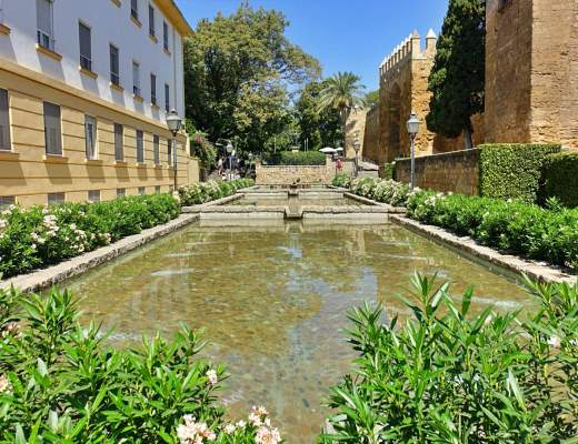 Cascading ponds in Cordoba
