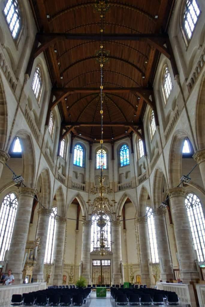 Altar inside Grote of Sint-Laurenskerk