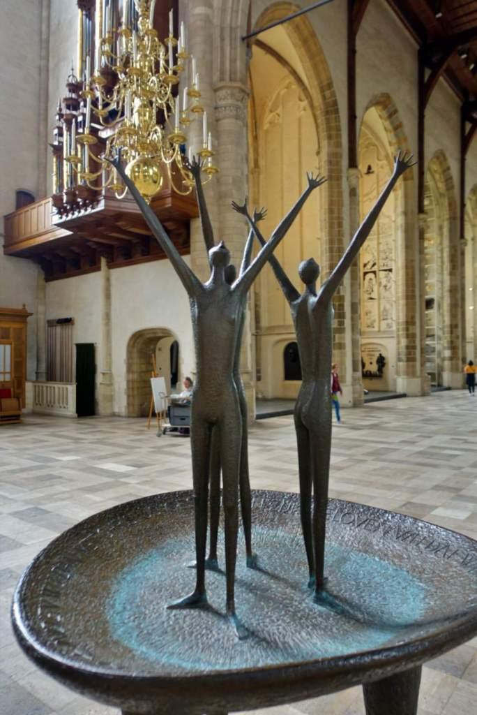 Inside Grote of Sint-Laurenskerk