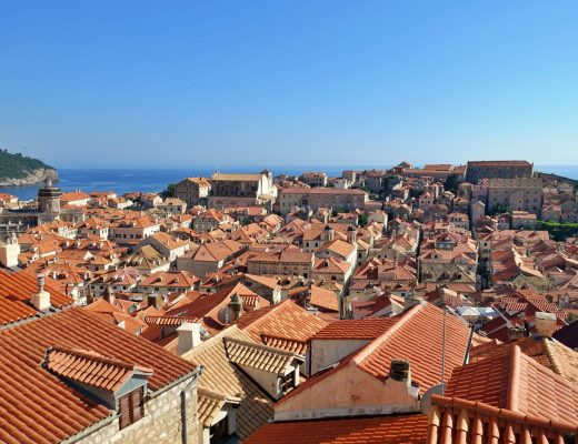 Dubrovnik red rooftops