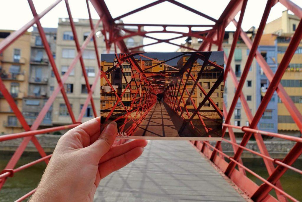 Girona postcard