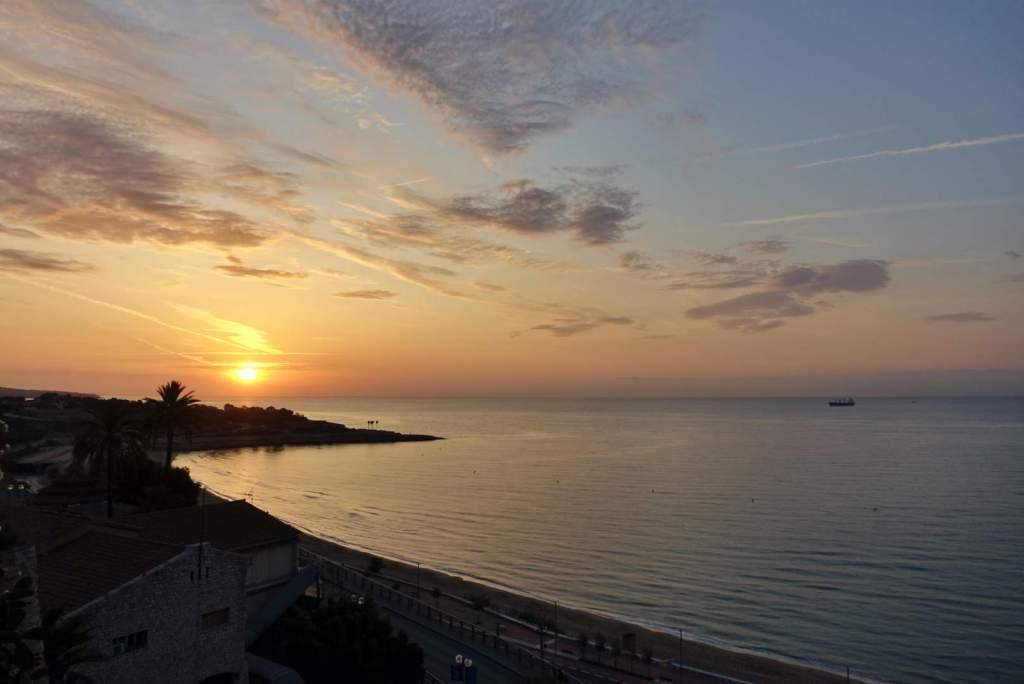 Tarragona sunset