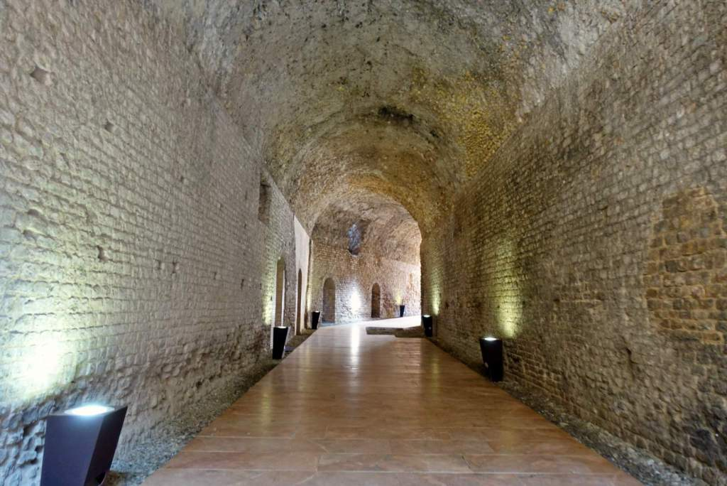 Tunnel in Roman Circus