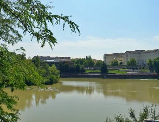 View across River Ebro, Logroño