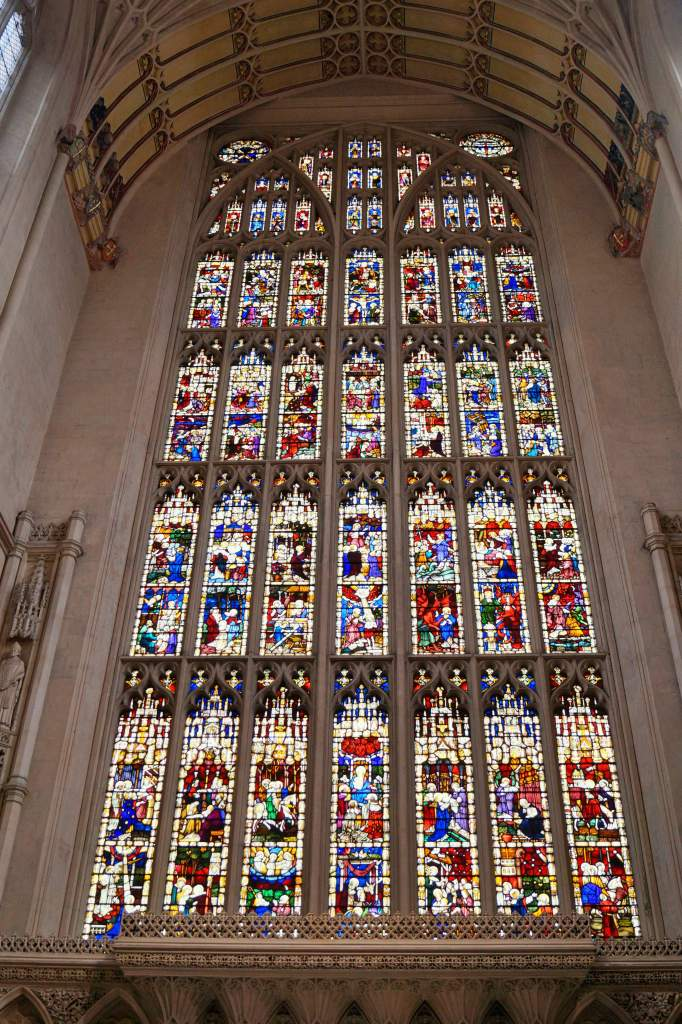 Stained Glass Window, Bath Abbey