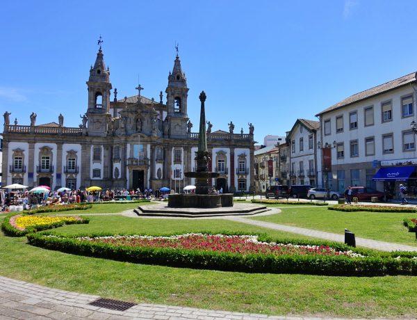 São Marcos Church with gardens