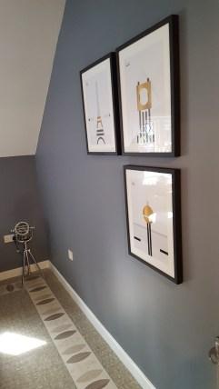 21st Century Cottage - Bedroom 3 - Studio lamp in chrome by Amtico