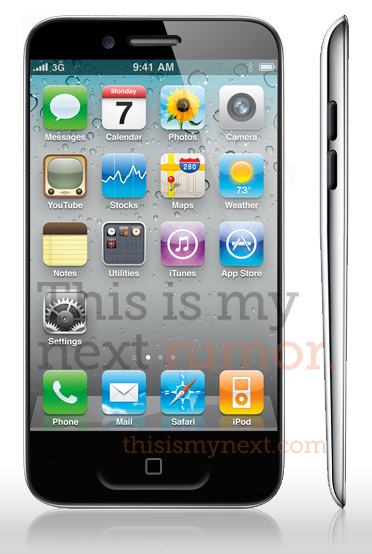This is My Next iPhone 5 Mockup