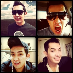 The Many Faces of Justin Salazar
