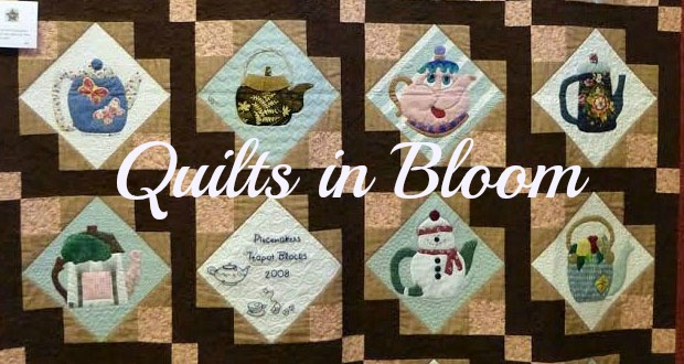 Quilts In Bloom Revisiting Work By The Piecemakers Quilt Guild
