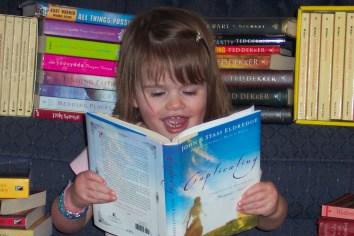 Abbye reading Captivating
