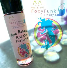 Pink Mer-Maid Roll On Perfum, Pink Lemonade Scented Scented Oil (1) copy