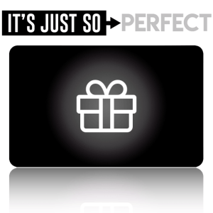 its just so you gift card graphic