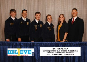 Being a National FFA Extemporaneous Public Speaking finalist was one of the coolest parts of my FFA career.