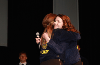 I just love Taylor Green! So exciting to install her as the new Kansas FFA President last year.
