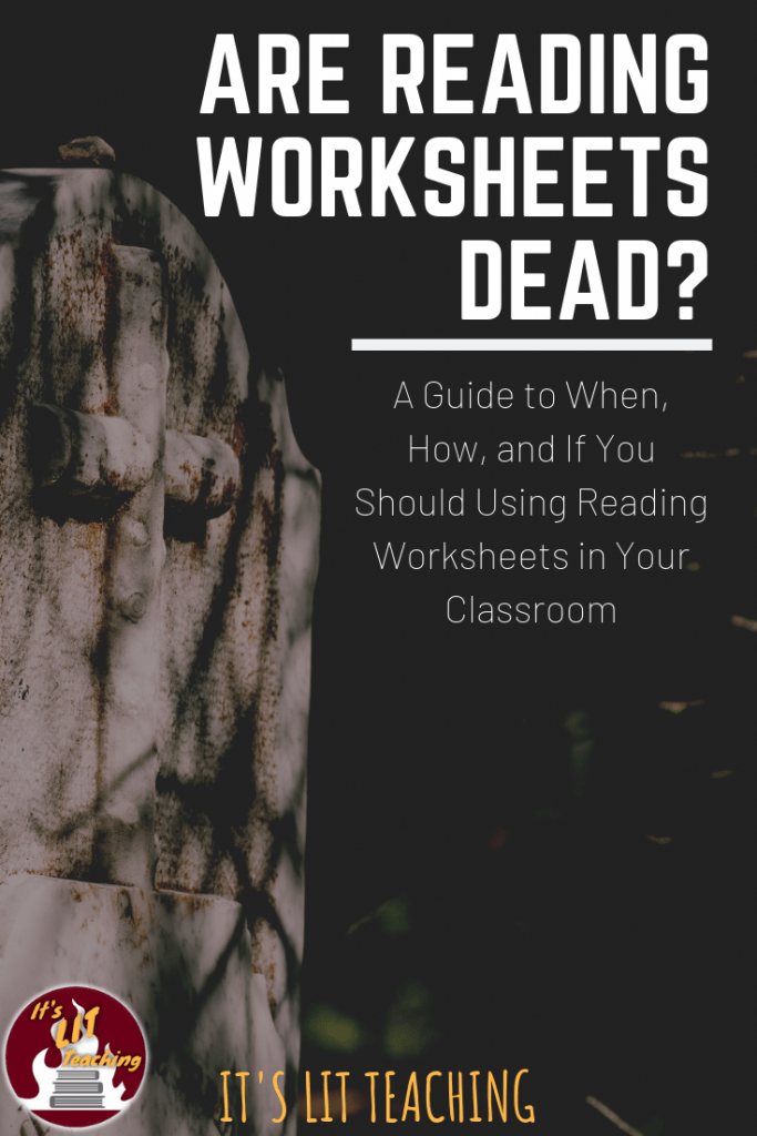 Are Reading Worksheets Dead?