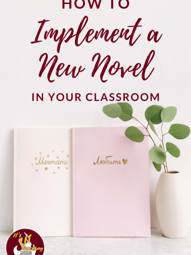 How To Implement a New Novel in Your Classroom
