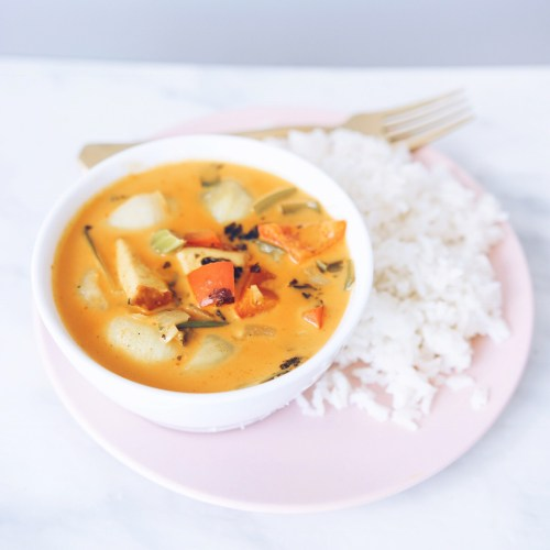 Thai Coconut Curry with Tofu
