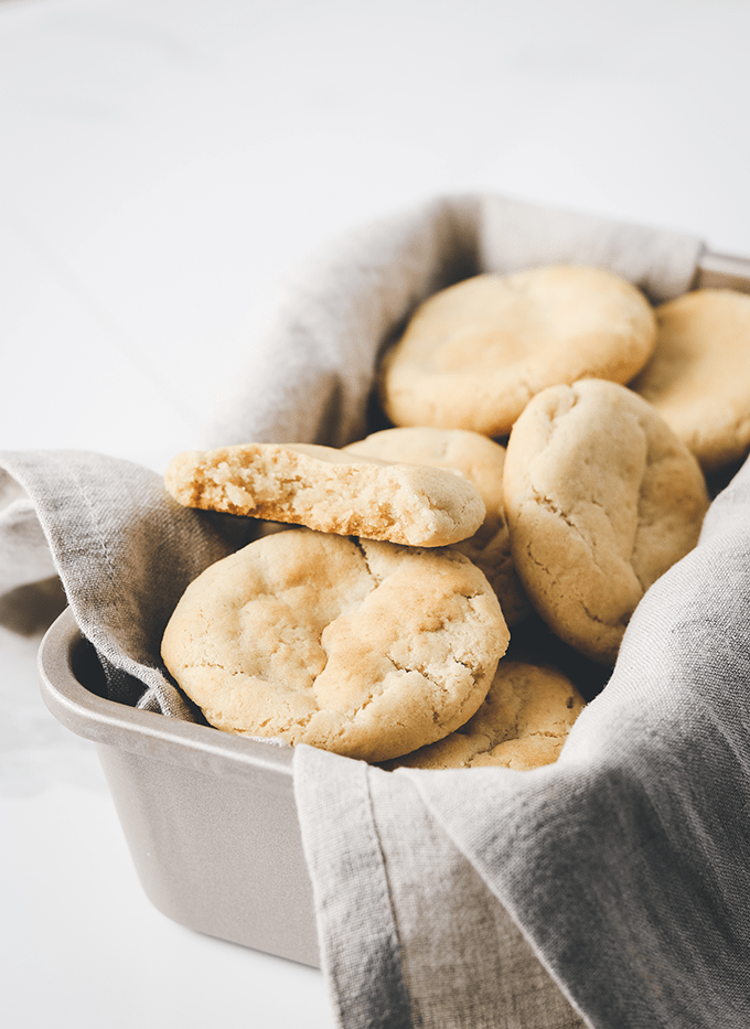 Thick & Chewy Vegan Sugar Cookies