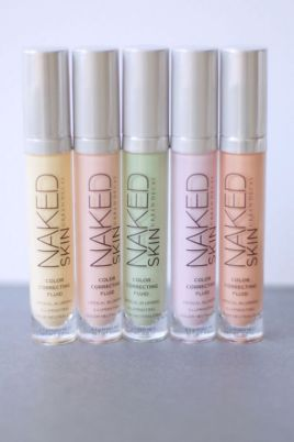 Urban Decay Concealers colour correction