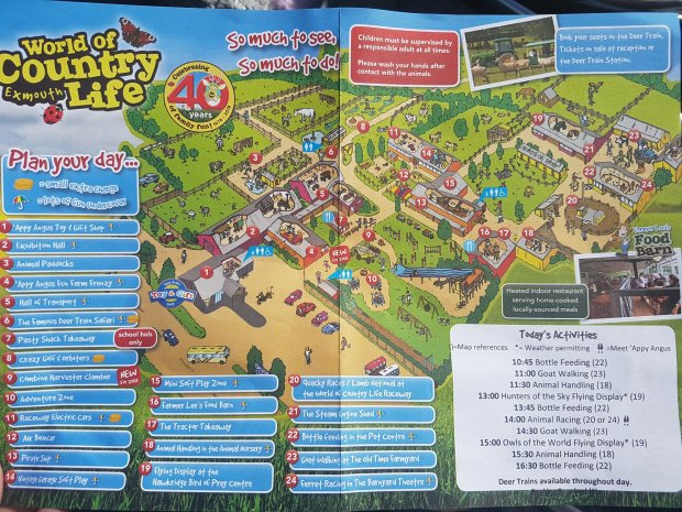 World of country life map