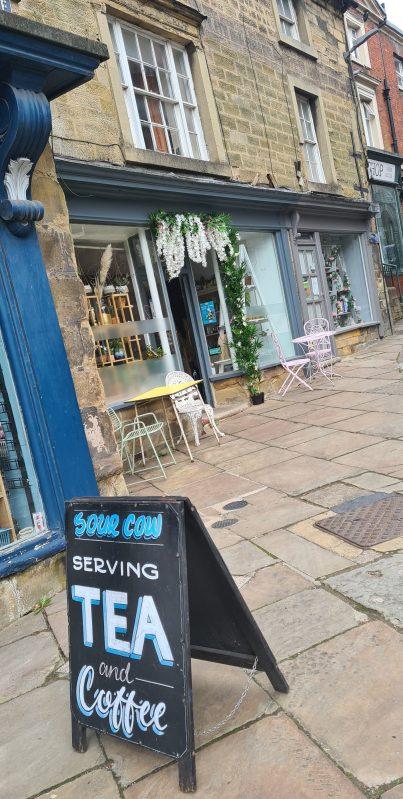 Sour cow cafe Matlock exterior