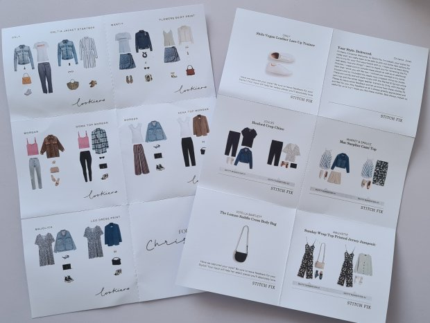Lookiero and Stitch Fix Styling cards