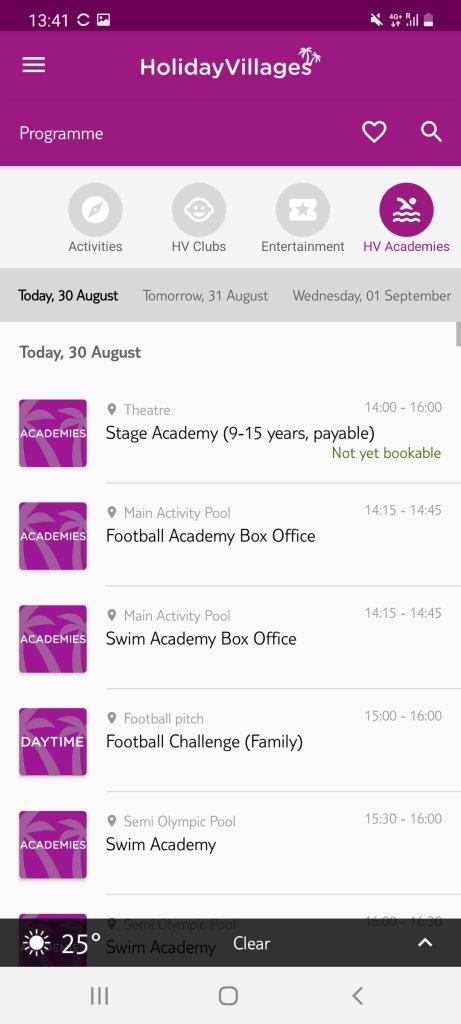 holiday village lanzarote app