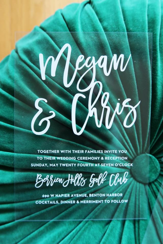 Basic Invite and Wedding Website Wedding Sets