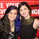 Melissa Megan at the Honey Jam Canada Auditions at the Mod Club Toronto with Pop artist Christie Palazzolo
