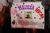 Fans show their support for Melissa Megan