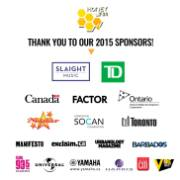 The Honey Jam Canada Sponsors for 2015