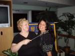 2007 Lynn Thomson & Me at her Kiwanis Installation Dinner