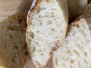 ホームベーカリーでフランスパン
